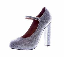 TOPSHOP GOSFORD Women's Multi-Color High Mary Jane Heels 32G13A Sz 8.5 NEW $120