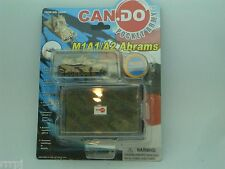 """CAN.DO  1:144 SCALE  """"MILITARY  M1A1/A2  ABRAMS  TANK""""   POCKET ARMY  #20041-D1"""