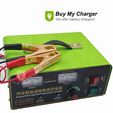 Intelligent Full Automatic 12V 50A Pulse Desulfation Lead Acid Battery Charger