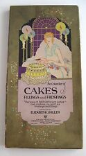 Charming Art Deco The Calendar of Cakes, Fillings and Frosting Booklet-Recipes *