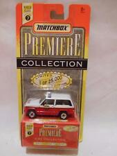 "Matchbox 1996 Premiere Collection series #7 ""JEEP CHEROKEE FIRE CHIEF"" New"