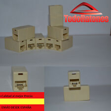 Adaptador Prolongador para Cable Ethernet de Red RJ45 RJ 45 CAT 5 Hembra-Hembra