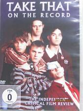 Take That - On The Record (DVD) NEW Robbie Williams