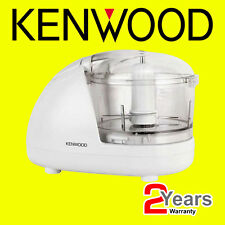Kenwood CH180 Electric Mini Chopper 2 Speed Food Processor White 300W - New