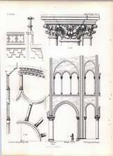 Gothic Mantes Notre Dame Eastern Bay Of Choir Rose Window Parapet