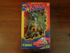 "X-Men Weapon X Action Figure Deluxe Edition 10"" Toy Biz 1994 Marvel Comics NIP"