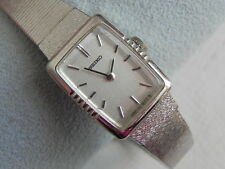 VINTAGE SEIKO BASE METAL TOP ST. STEEL BACK WINDING LADY'S WATCH
