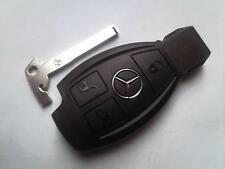 GENUINE MERCEDES BENZ CLASS E S C SLK COUP VITO ETC 3BUTTON REMOTE UNCUT KEY FOB