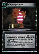 Star Trek CCG 2E Reflections 2.0 Stalling For Time FOIL 6P29