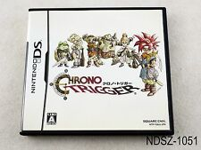 Chrono Trigger Nintendo DS Japanese Import NDS Japan JP US Seller A