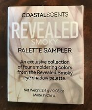 NEW Coastal Scents Revealed Smoky Palette Sampler Eyeshadow