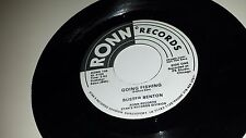 BUSTER BENTON Spider In My Stew / Going Fishing RONN 105 PROMO SOUL 45 7""