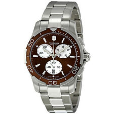 Victorinox Alliance Sport Chrono Brown Dial Quartz Watch-241502