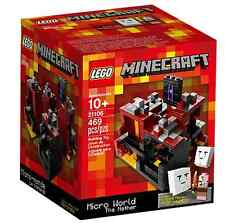 LEGO® MINECRAFT™ 21106 Micro World - The Nether Neu OVP_New MISB NRFB