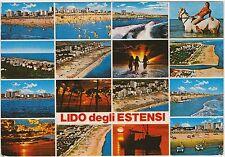 LIDO DEGLI ESTENSI - VEDUTINE - COMACCHIO (FERRARA) 1986