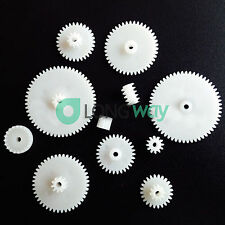 11 styles Plastic Gears All Module 0.5 Robot Parts for DIY Arduino