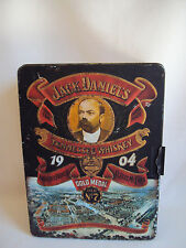 VINTAGE JACK DANIEIL'S 1904 GOLD MEDAL OLD # 7 TIN BOX