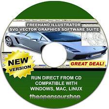 Illustratore SVG Vector Graphics Suite Editor – rendono le immagini digitali artistica