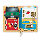 Melissa and Doug - Locks Board NEW * early learning classic wooden toy