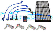 RX-8 MAZDA 1.3L TUNE-UP KIT NGK WIRE SET IRIDIUM SPARK PLUGS AIR OIL FILTER NEW