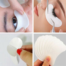50pcs recourbe - cils extension patch pitons gel masque eyepads peluches