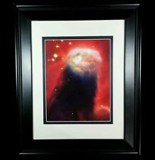Hubble Telescope, Star Cone Nebula Cosmos Universe: Matted Framed Wall Art Print