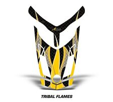 Ski Doo Rev XR GSX Summit Sled Sticker Decal Hood Graphic Kit 2013 TFLAME - YLW