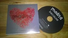 CD Indie Madita - Because (3 Song) Promo COUCH REC cb