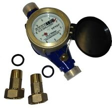 Bronze Water Meter, New,Accurate and Reliable, No Lead Bronze