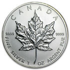 2010 1 oz Silver Canadian Maple Leaf Coin - SKU #56011