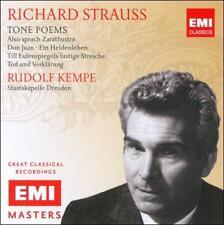 STRAUSS, RICHARD - Tone Poems - RUDOLF KEMPE - 2CD EMI NEW
