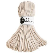 Bobbiny Rope - Natural - Knitting, Crochet, Macrame