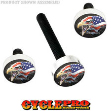Windshield Bolt Kit for 14-Up Harley Electra & Street EAGLE USA FLAG - 042