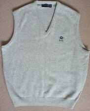 Faldo by Pringle vest, 100% new wool, XL, light grey, golf, NWOT new