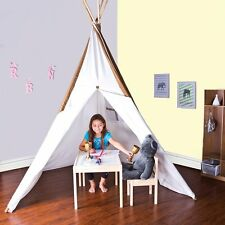 FREE SHIPPING ~ Pacific Play Cotton Canvas Teepee Tent ~ 8 Feet Tall