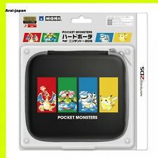 New Pokemon Cover case Hard porch pouch HORI for 2DS Nintendo Japan monster