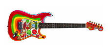 George Harrison's Fender Stratocaster Rocky Guitar Greeting Card, DL size