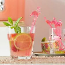 Pink Flamingo Cocktail Drink Stirrers Tropical Hawaiian BBQ Wedding Hen Party
