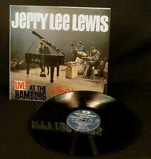 LP Jerry Lee Lewis live at the straclub Hamburg - superbe Réédition VINYLE NEW