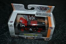 M2 MACHINES CASTLINE AUTO MODS 1968 FORD MUSTANG RED AND BLACK AM02