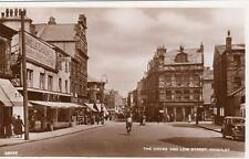 Cross Low Street Keighley  Chadwicks Shop unused RP old pc Valentines Good