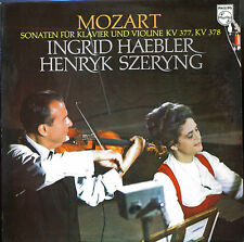 Haebler & Szeryng Mozart sonatas for piano/violin Philips Holland LP