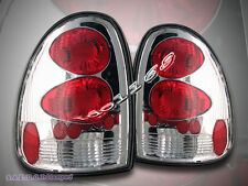 1996 1997 1998 - 2000 Dodge Caravan Durango Tail Lights Chrome