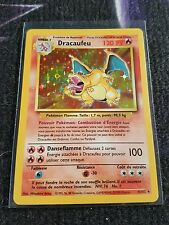 Carte Pokémon Dracaufeu 4/102 NEUF set de base