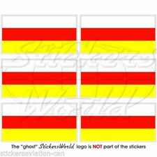 """SOUTH OSSETIA Flag Ossetian Mobile Cell Phone Mini, Decals Stickers 1.6"""" x6"""