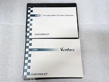 Chevrolet NEW Owner Manual Portfolio Venture 2004