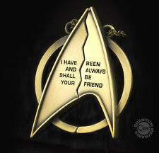 "QMX Star Trek 2 Part Magnetic 3"" Friendship Necklace in Box-FREE S&H (SWJW-1001)"