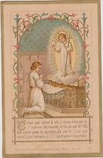 IMAGE PIEUSE HOLY CARD SANTINI/ENFANT JESUS-FILS PERE ST ESPRIT--AUTEL-