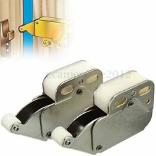 2X Mini Tip Catch Spring Loaded Cupboard Caravan Door Cabinet Boat Latch Lock
