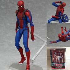 superhero spiderman 199 The Amazing Spider man doll pvc Action Figure UU32 ANIME